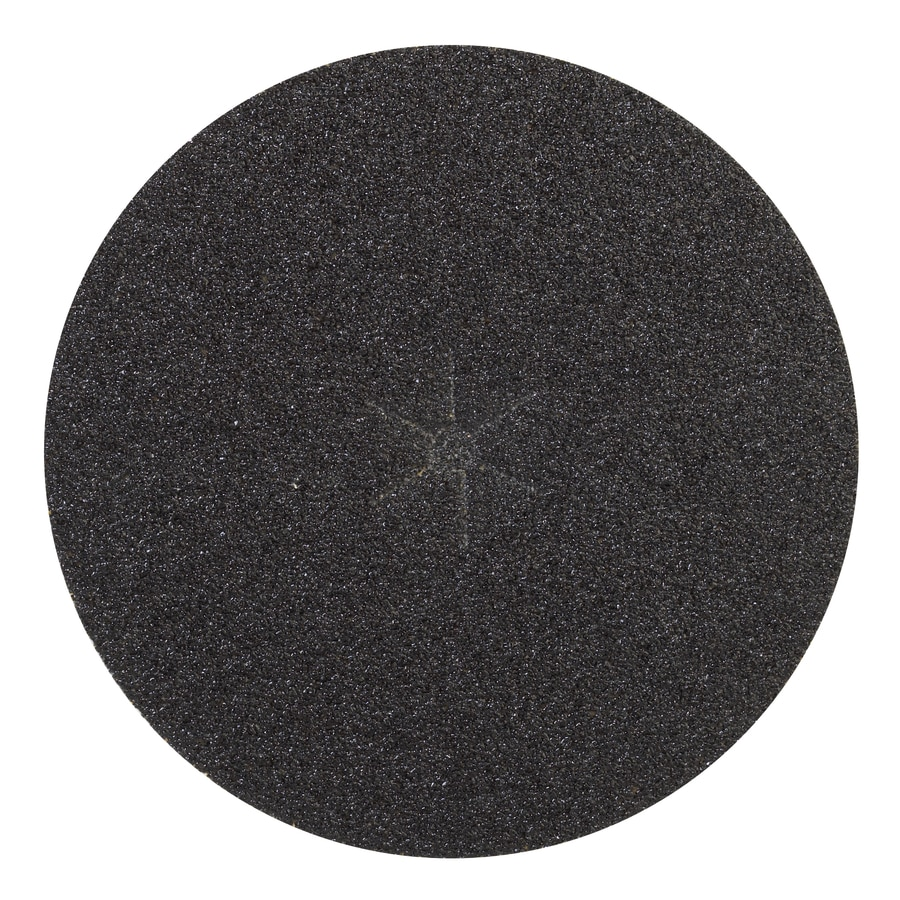 3M 7-in W x 7-in L 24-Grit Commercial Disc Sandpaper