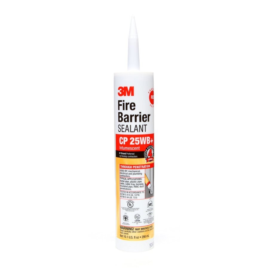 3M Fire Barrier-Pack 10.1-oz Red  Paintable Caulk