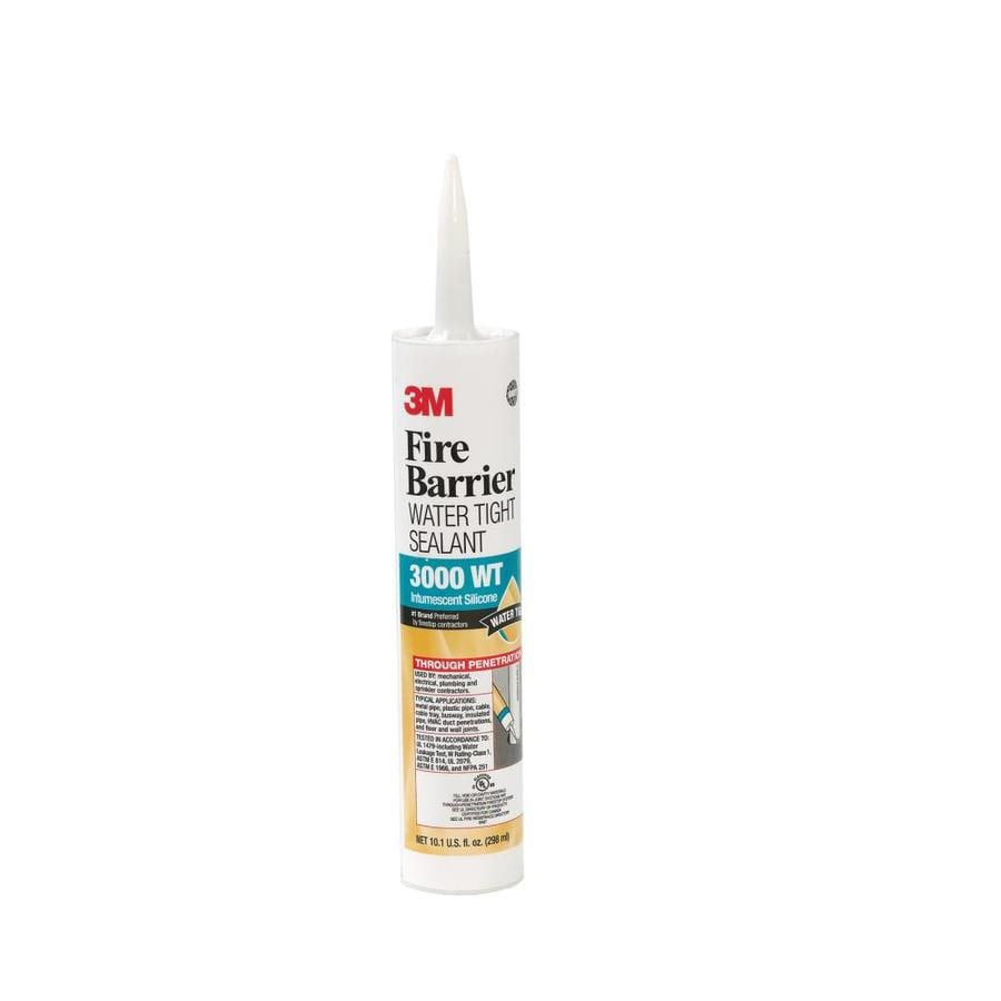 3M Fire Barrier 10.1-oz Grey with Black Flecks Caulk