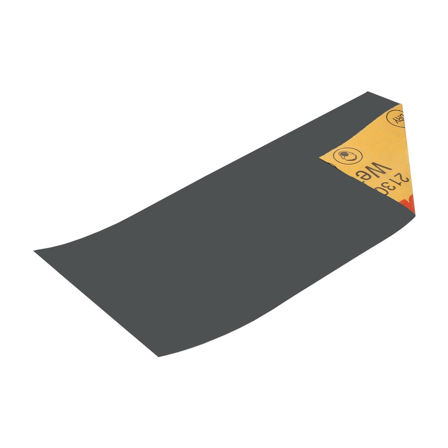 3M 8-Pack 3.66-in W x 9-in L 1,500-Grit Commercial Sandpaper Sheets