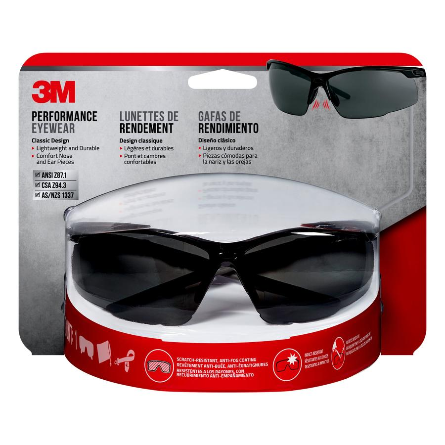 3M Performance Eyewear All Purpose Gray