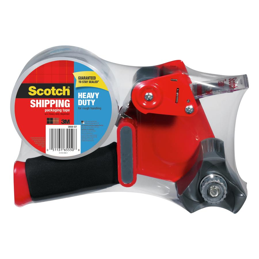Scotch 1.88-in x 164-ft Clear Packing Tape