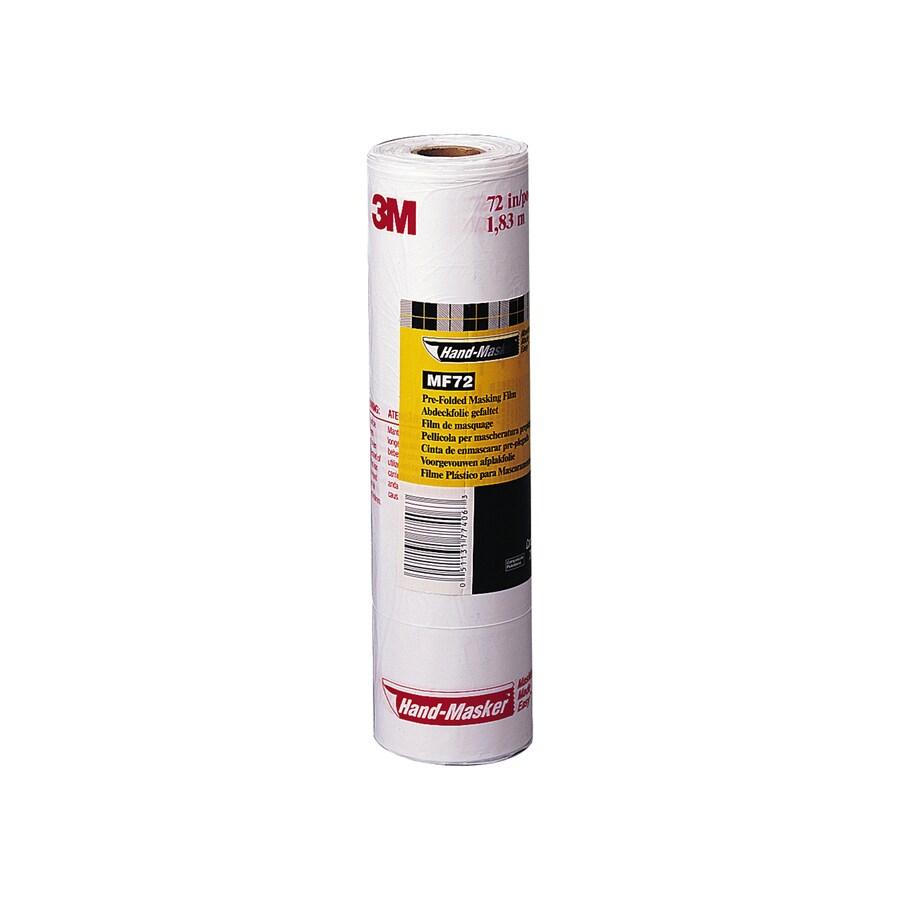 3M 72-in x 90-ft Non-Adhesive Premium Masking Film
