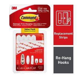 99f1f32ecd Command 16-Pack White Adhesive Hook