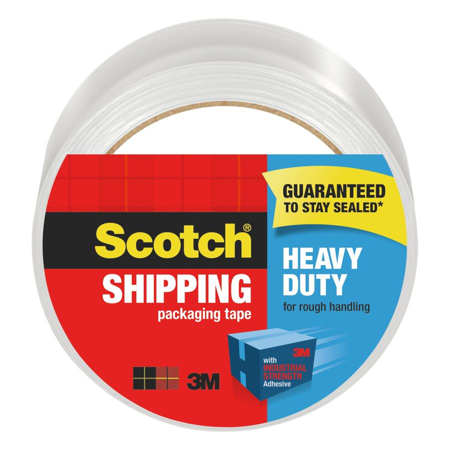 Scotch 1.88-in x 163.8-ft Clear Packing Tape