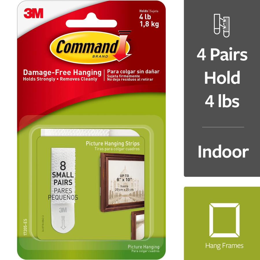 Command Command(Tm) Small Picture Hanging Strips