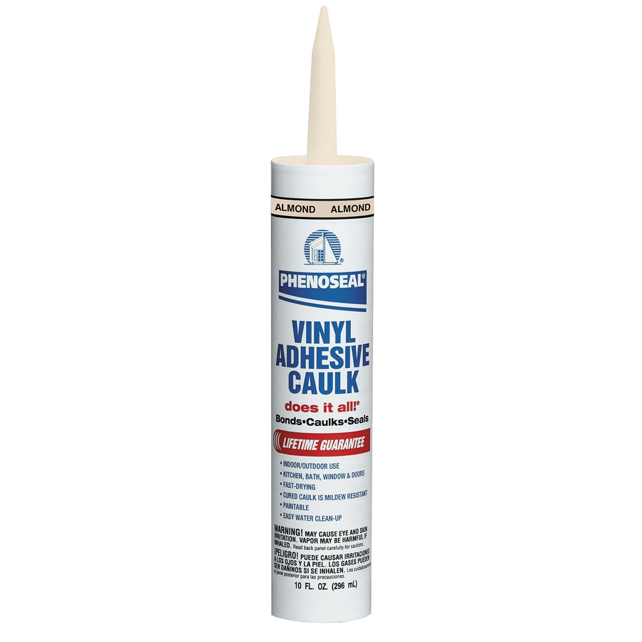 PHENOSEAL Phenoseal Vinyl Adhesive 10-oz Almond Paintable Latex Specialty Caulk