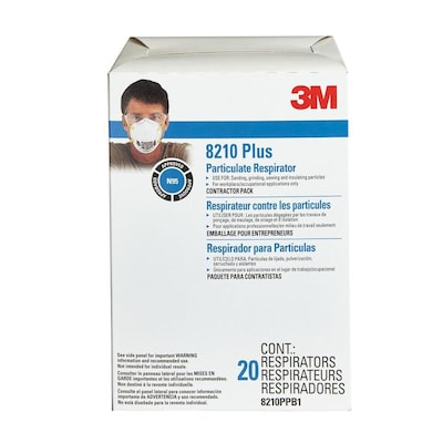 Safety Sanding Masks And 20-pack Disposable Fiberglass