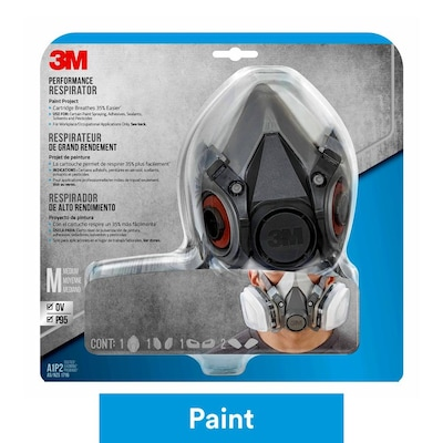 3M Reusable Painting Valved Safety Mask at Lowes com