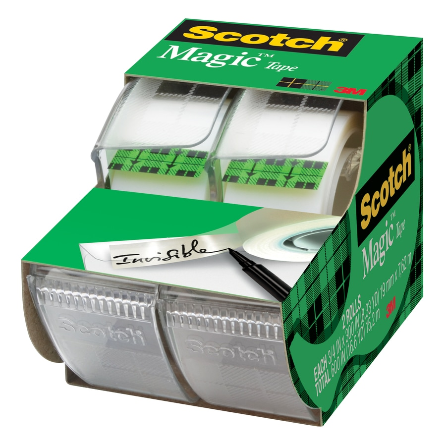 Scotch 2-Pack Magic 29.2-ft x 0.75-in Clear Tape