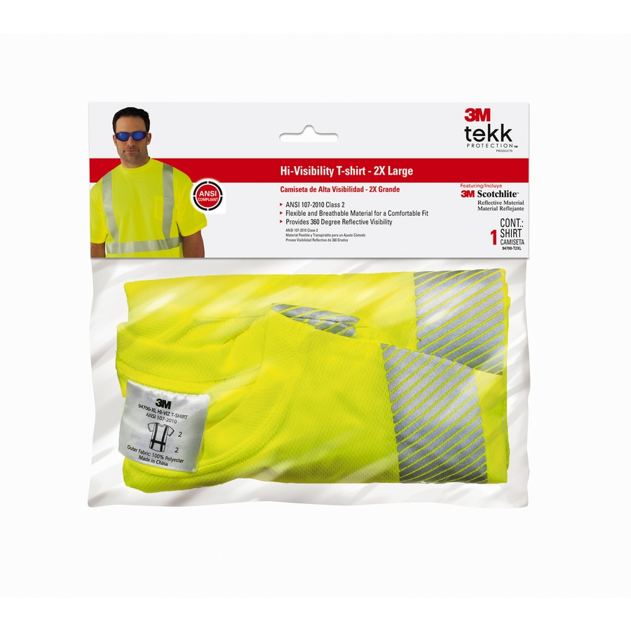 3M Fluorescent Yellow XX-Large T-Shirt