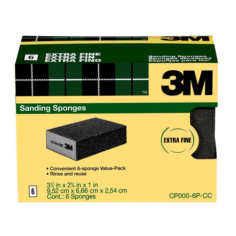 3M 2.62-in x 3.75-in Commercial Sanding Sponge