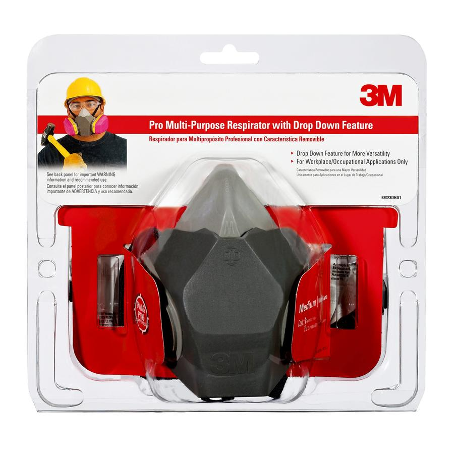 3M Reusable All Purpose Valved Safety Mask