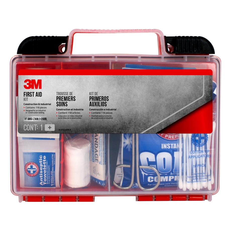 3M 118-Piece Industrial First Aid Kit