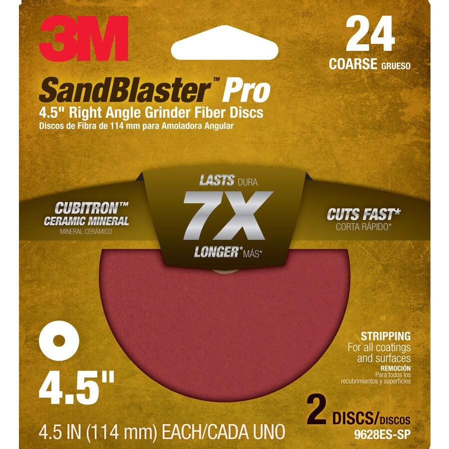 3M 2-Pack 4.5-in W x 4.5-in L Commercial Discs Sandpaper
