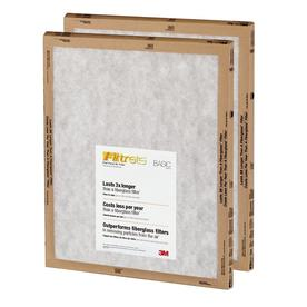 a1d871a27ae Filtrete 2-Pack Flat Panel (Common  14-in x 24-in