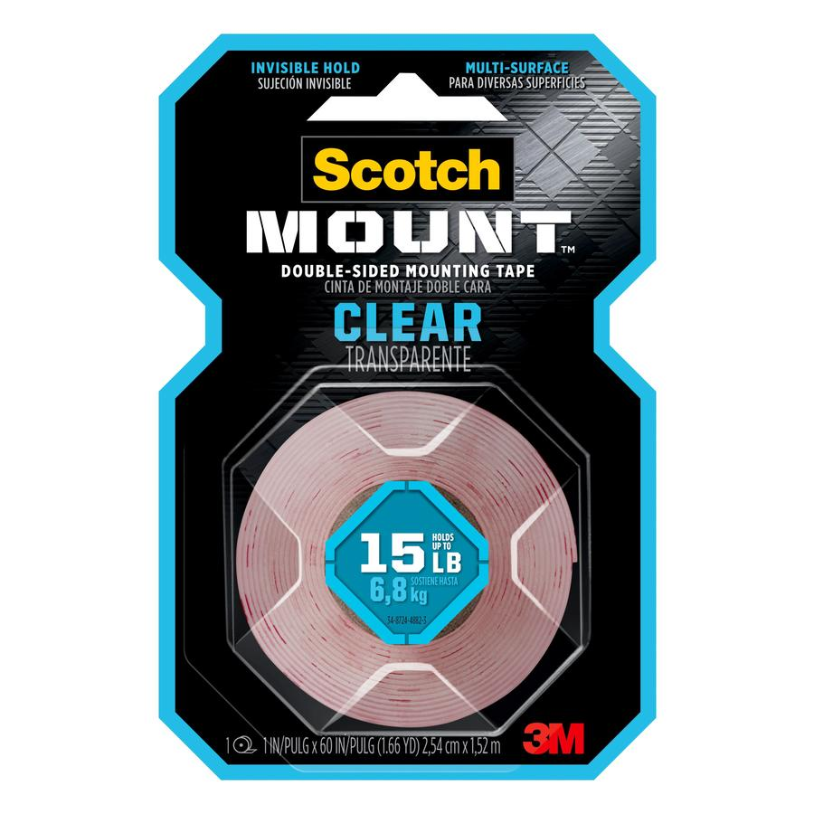 Great Scotch 1 In X 5 Ft Two Sided Tape
