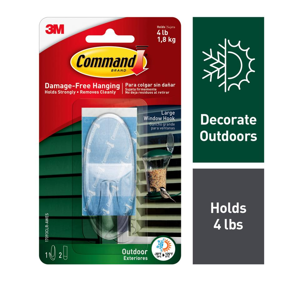 Command Clear Adhesive Hook