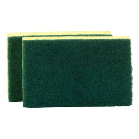 Scotch Brite 2 Pack Cellulose Sponge With Scouring Pad
