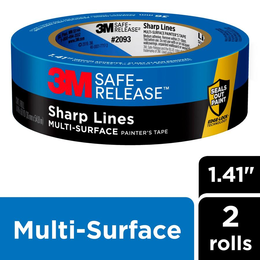 3M 2-Pack 1.41-in Painter's Tape