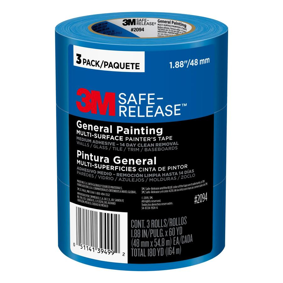 3M 3-Pack 1.88-in Painter's Tape