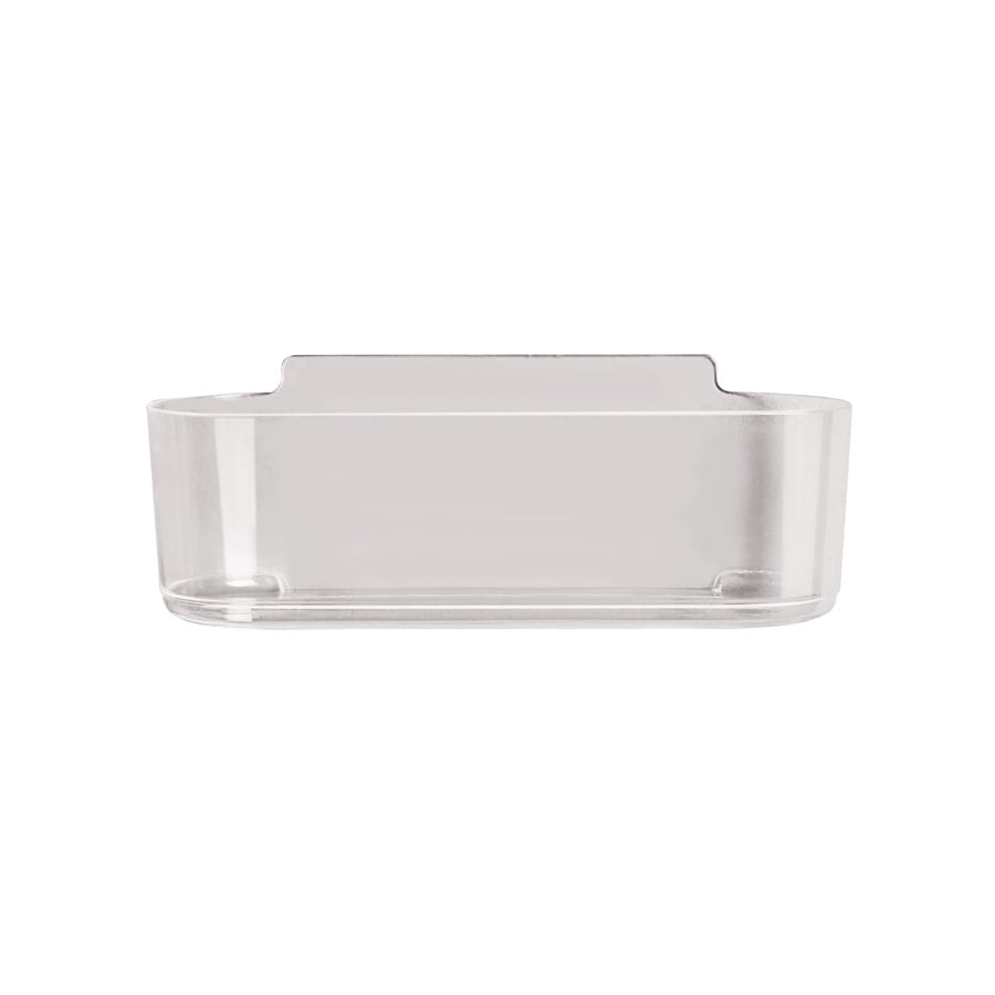 Shop Command Clear Plastic Bathtub Caddy at Lowes.com
