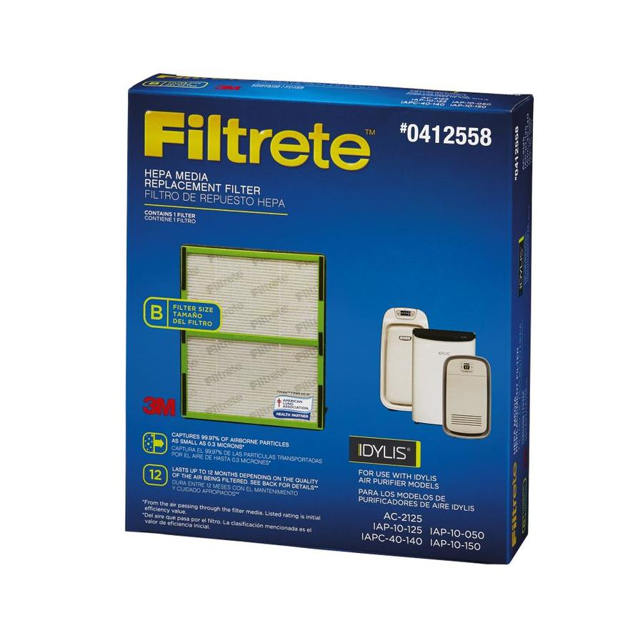 Filtrete Hepa Media Replacement Hepa Air Purifier Filter