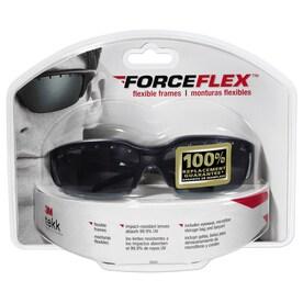 3m Safety Eyewear Forceflex 99% Uv Protection Black, Gray