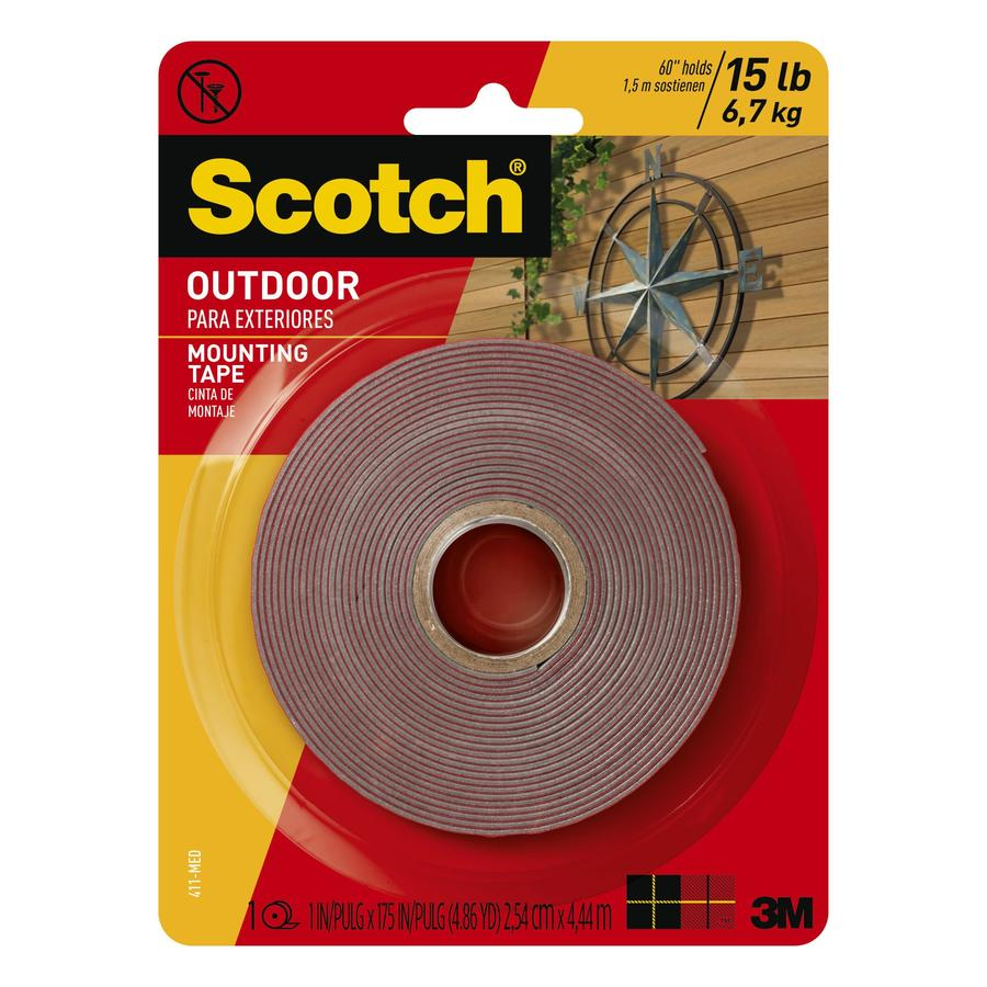 Scotch 1 In X 14.85 Ft Two Sided Tape