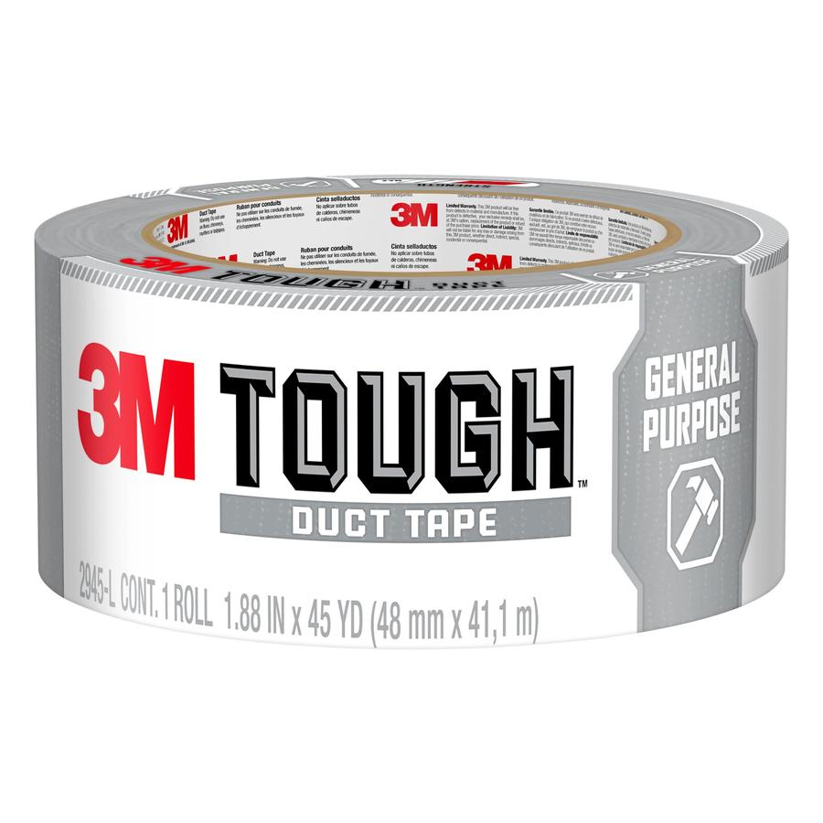 3M All Purpose 1.88-in x 135-ft Gray Duct Tape
