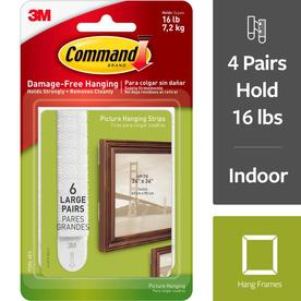 Command 6-Pack White Adhesive Hook