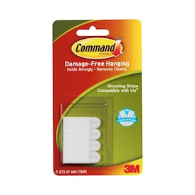 Command White Picture Hanging Strips