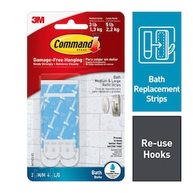 Command 6-Pack Blue Adhesive Hook