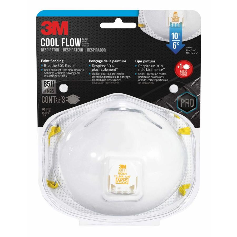 3M 3-Pack Fiberglass Safety Masks