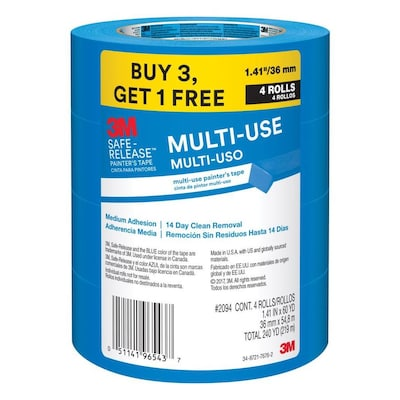 Multi Surface 4 Pack 1 41 In Painters Tape