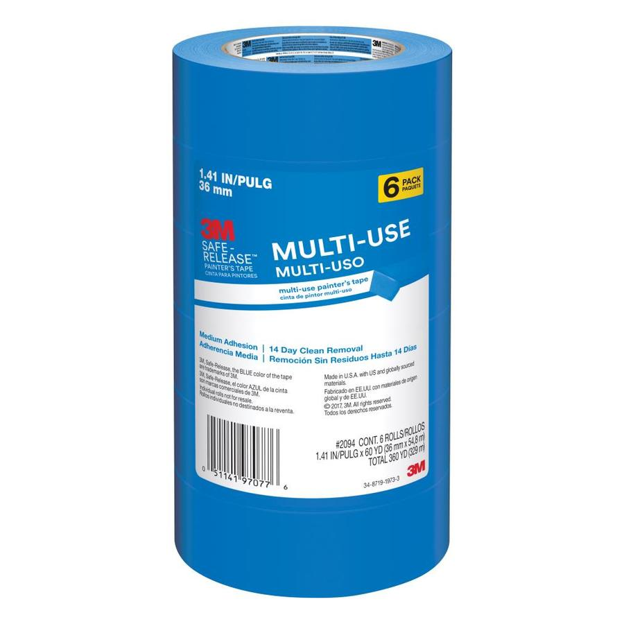 3M 6-Pack 1.41-in Painter's Tapes