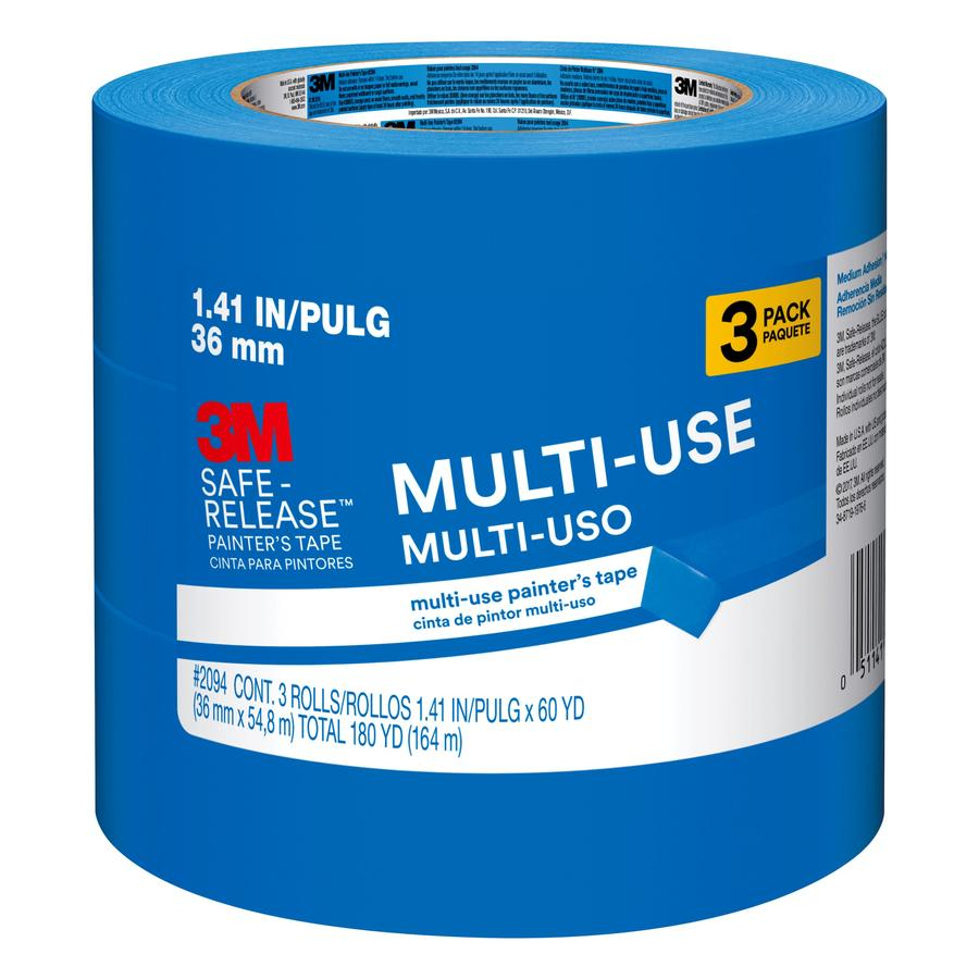 3M 3-Pack 1.41-in Painter's Tape