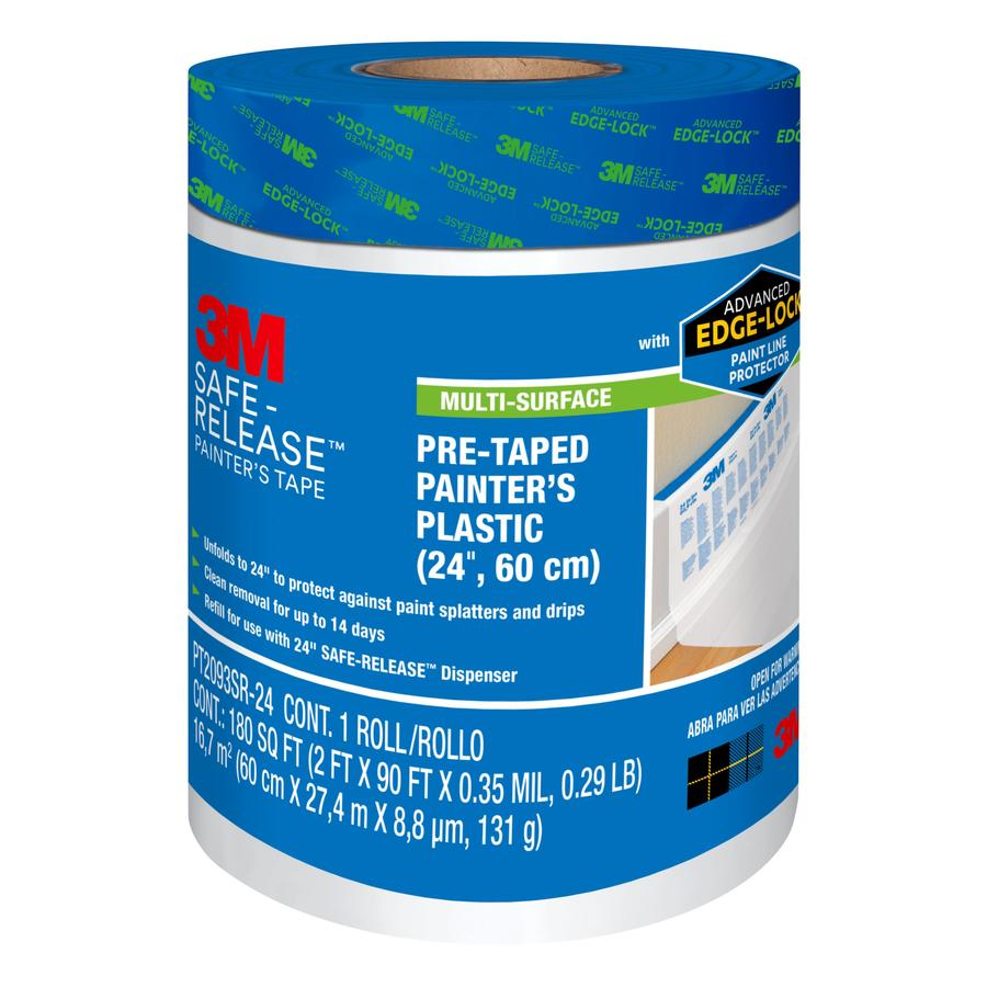 3M 24-in x 90-ft Adhesive Premium Masking Film