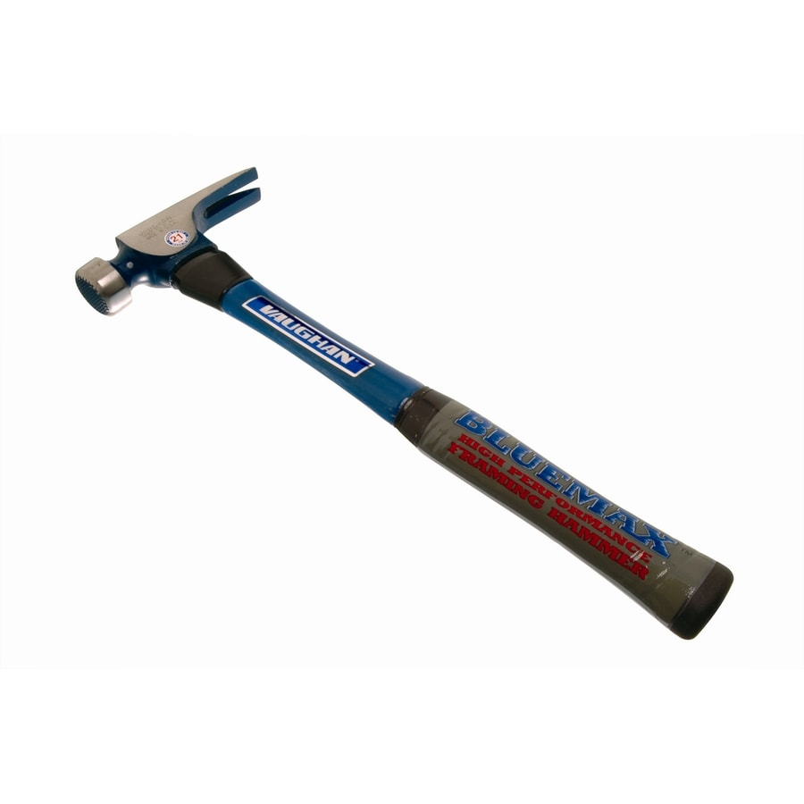 VAUGHAN 21-oz Serrated Straight Handle Hammer