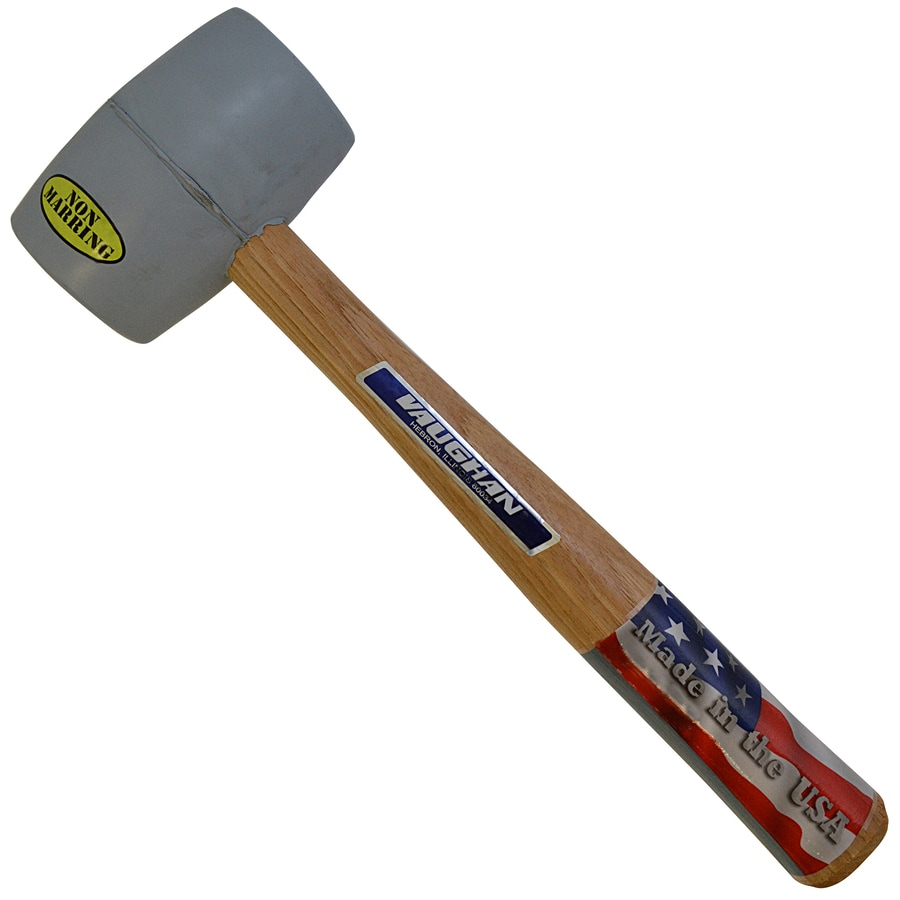 VAUGHAN 20 oz. Smoothed Face Rubber Mallet