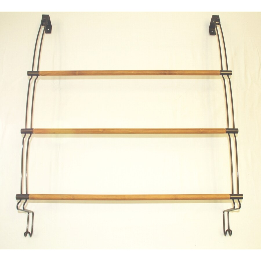Better Bath Oil-Rubbed Bronze with Bamboo Rods Single Towel Bar
