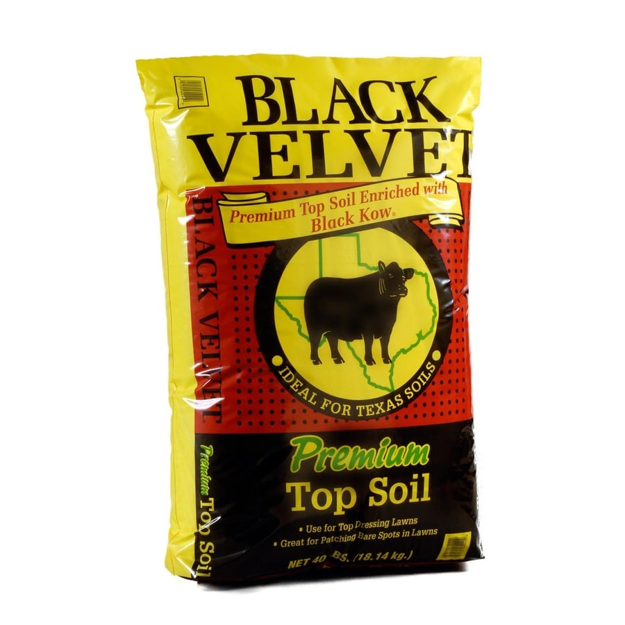 Black Kow 40-lb Organic Top Soil