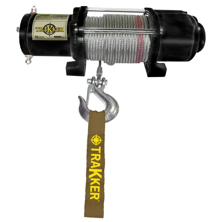 Trakker 1.6-HP 4,000-lb Universal Winch