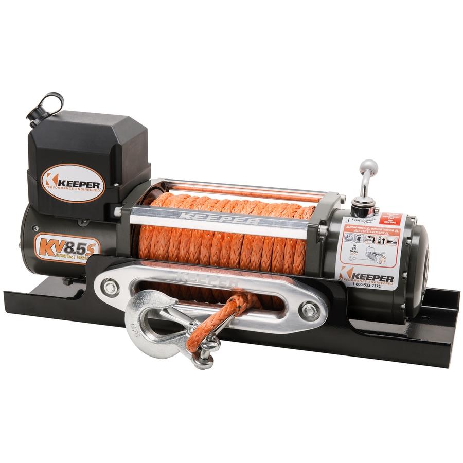 Keeper 5.5-HP 8,500-lb Universal Winch