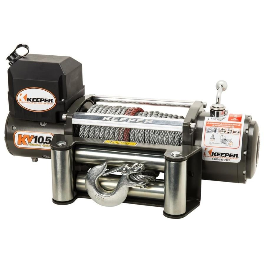 Shop Keeper 5 5 Hp 10 500 Lb Universal Winch At Lowes Com
