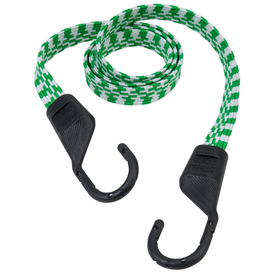 Secure Tite 4-ft Rubber Core Steel Hook Bungee Cord