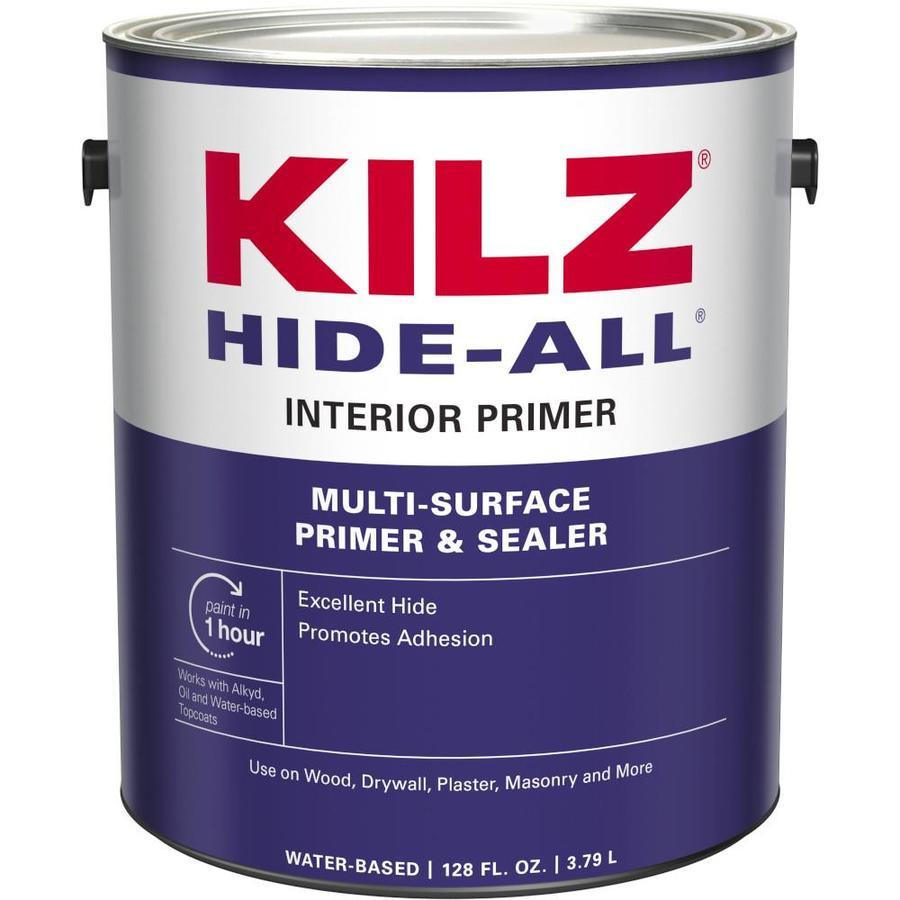 KILZ Kilz Hide-All Interior Latex Primer (Actual Net Contents: 128-fl oz)