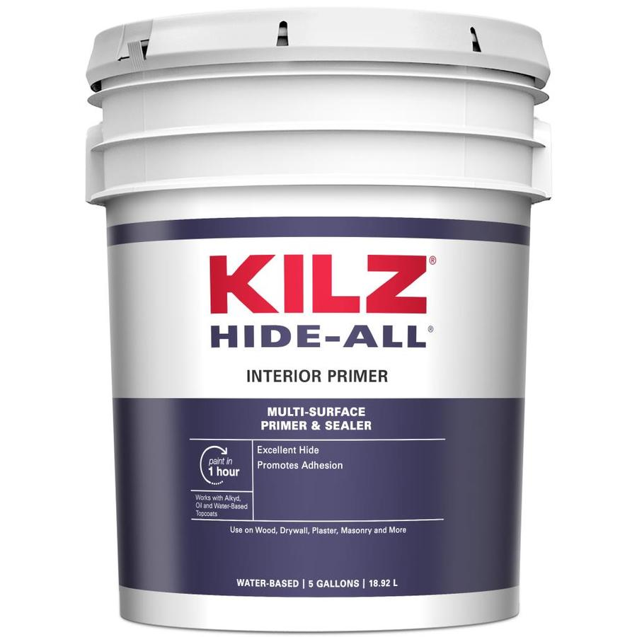 KILZ Kilz Hide-All Interior Latex Primer (Actual Net Contents: 640-fl oz)