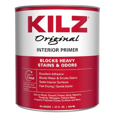 Original Interior Multi Purpose Oil Based Wall And Ceiling Primer Actual Net Contents 32 Oz