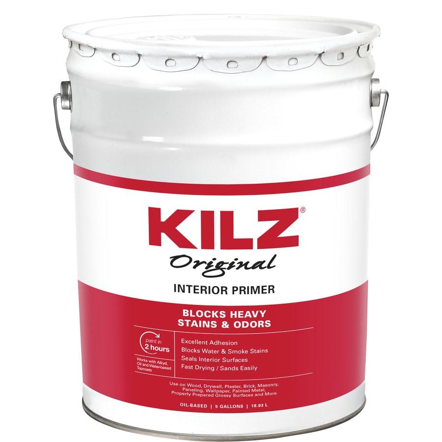 KILZ Original Low Voc Interior Oil Primer (Actual Net Contents: 640-fl oz)